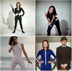 Emma Peel The Avengers Costumes