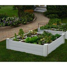 Vita Garden Bed With Grid - VT17103