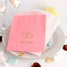 Personalised Wedding Cake Bags