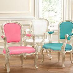 Fancy desk chairs.