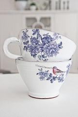 Bird Cup - Great Blue