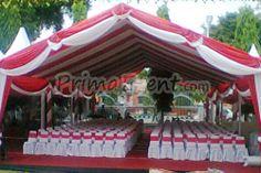 tenda hall elegan, cocok untuk seremoni, resepsi pernikahan, dll. Hubungi Prima Event Makassar - Sewa Tenda, Sewa Panggung, dan Dekorasi di Makassar Telepon: 0411-881533 | 0811-465660 Email: info@primaevent.com Website: www.primaevent.com