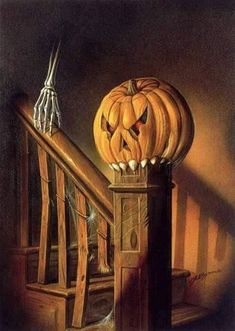 "Halloween Art From The Book ""The Manse"" by Lisa W. Cantrell"