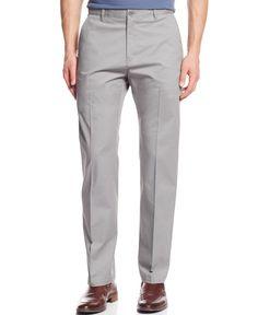 Calvin Klein Regular-Fit Sateen Pants