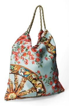 Dolce&Gabbana 'St. Bouganville' Hobo, Large available at #Nordstrom