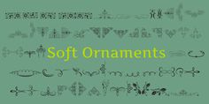 Soft Ornaments font by Intellecta Design - FontSpace