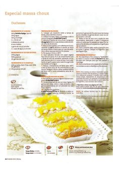 Revista bimby pt-s02-0015 - fevereiro 2012 Kitchen Reviews, What To Cook, Nom Nom, Bakery, Easy Meals, Food And Drink, Sweets, Lamborghini Aventador, Fruit
