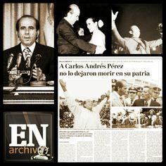 Carlos Andrés Pérez (ARCHIVO EL NACIONAL)