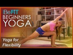 BeFiT Beginners Yoga: Beginners Yoga Stretching & Flexibility Workout | Level 1- Kino MacGregor - YouTube