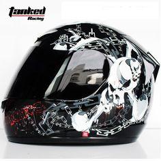 86.40$  Buy now - http://alioex.worldwells.pw/go.php?t=32620870607 - Tanked Racing motorcycle helmet full helmet motorcycle helmet for men and women DOT approved 86.40$