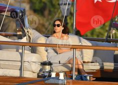 Crown Princess Mary, Crown Prince Frederik, Prince Christian, Princess Isabella, Prince Vincent and Princess Josephine on holiday on a luxury yacht in Kos island of Greece