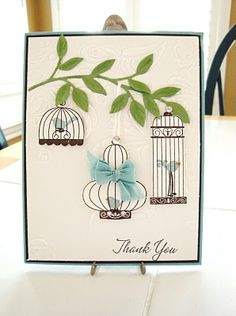 When I get this stamp set I am going to make this!