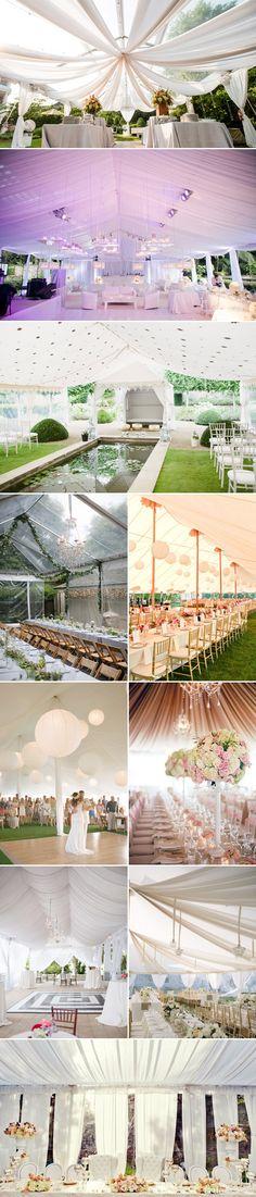 15 Romantic Wedding Tents