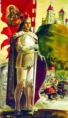 Lithuania, Medieval, History, Illustration, Painting, Art, Crowns, Art Background, Historia