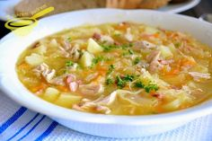 Polish Recipes, Polish Food, Vegan Ramen, B Food, Ramen Noodles, Cheeseburger Chowder, Polish Food Recipes