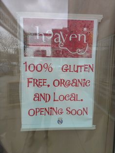 new gluten free bakery opening soon on 17th Ave SW next to Buttercream.