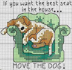 Free Cross Stitch Dog Chart