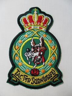 SOLD! VINTAGE TACTICAL FIGHTER SQUADRON 32 USAFE PATCH - UNSEWN USA BEAUTIFUL MILITARY