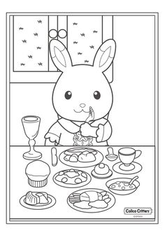 17 coloring pages of Calico Critters on Kids-n-Fun.co.uk. On Kids-n-Fun you will always find the best coloring pages first!