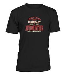Limited edition shirt automonteur