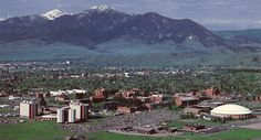Bozeman, Montana- Naturally beautiful state! had my 1st Bison burger there! YUM!