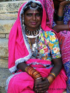 colorful smile..Jaisalmer, India.