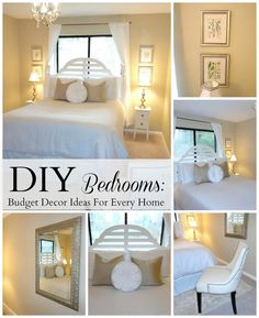 DIY Bedrooms: Easy Affordable Decorating Ideas For Every Home!