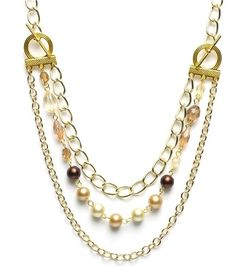 How to Make Statement Chain Necklace Tutorials ~ The Beading Gem's Journal
