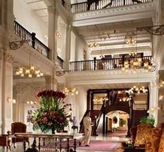 the famous Raffles Hotel Singapore.....yes I did have a Gin Sling.  It cost an arm and a leg!!