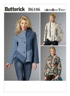 -XLG 16-18 24-26 -XXL 20-22 Butterick Patterns 6255 ZZ,Misses Coat,Sizes LRG