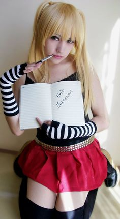 Amane Misa Death Note by ~Zettai-Cosplay on deviantART
