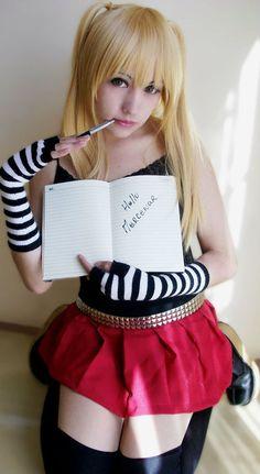 Amane Misa Death Note by ~Zettai-Cosplay on deviantART