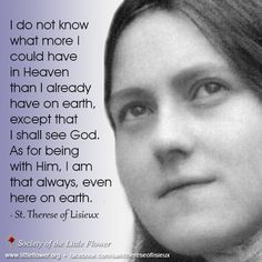 St. Therese.