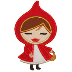 Little Red Riding Hood Applique instead of paying big bucks for Kellys Kids outfits