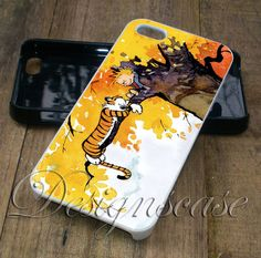 Calvin and Hobbes on Tree - iPhone 6/6S 5/5S 5C Cases Samsung Galaxy S4 S5 S6 Edge Cases