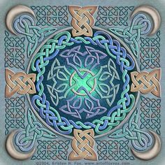 Celtic Eye of the World by foxvox.deviantart.com on @deviantART