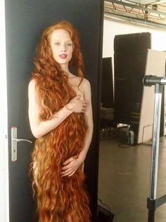 Mega hairy redhead teen