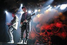Avenged Sevenfold live in Frankfurt, Germany on November 15th, 2013
