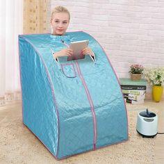 Portable Sauna, Portable House, Home Steam Sauna, Stainless Steel Brackets, Tiring Day, Steam Bath, Steam Generator, Detoxify Your Body, Infrared Sauna