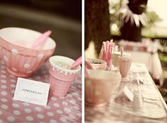 CAKE. | events + design: real parties: vintage pink ice cream party