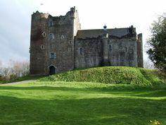 DUNNE Castle, Scotland -   For more wedding tips and ideas go to my blog. www.mrspurplerose.com