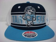 9dc4d27e North Carolina UNC Tar Heels Zephyr Cap Flat Brim Snapback Game Changer Hat  NCAA #NorthCarolina