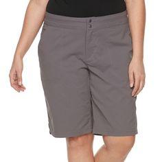 Plus Size Columbia Zephyr Heights Bermuda Shorts, Purple Oth