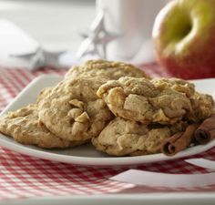 Apple Oatmeal Cookies from Through the Country Door®