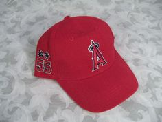 $14.99 NEW LOS ANGELES ANGELS OF ANAHEIM #55 HIDEKI MATSUI ADJUSTABLE BASEBALL HAT