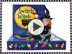 The Switch Witch - Great idea for a healthy Halloween and kids with allergies!