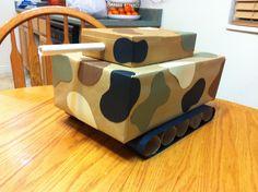 Tank Valentines Box