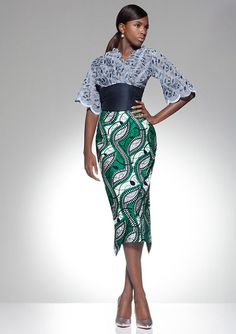 Vlisco Parade Of Charm Fashion Look #africanprint #vlisco