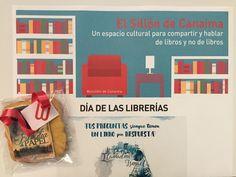 Un año más, llega el Día de las Librerías, y Familia de Papel se convierte en galleta por cortesía de Librería Canaima. ¡Muchas gracias!