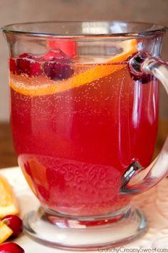 Orange Cranberry Spritzer